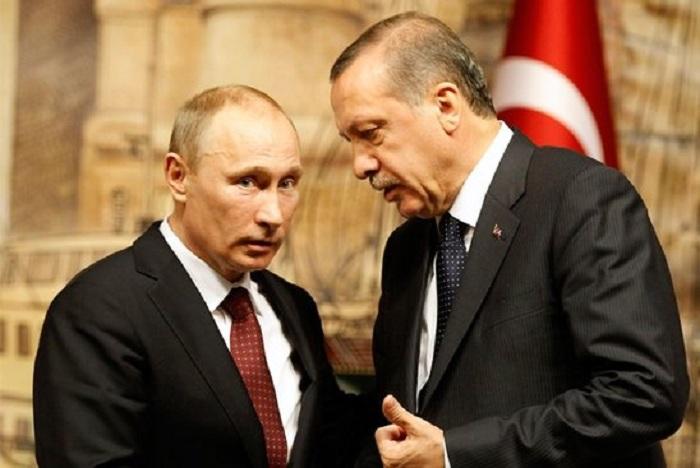 Putin Ərdoğana zəng etdi - Gündəm yenə Suriyadır