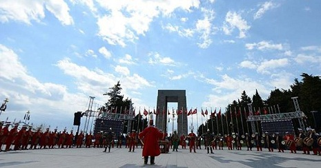 Turkey celebrates 100th anniversary of Canakkale Victory - VIDEO, LIVE