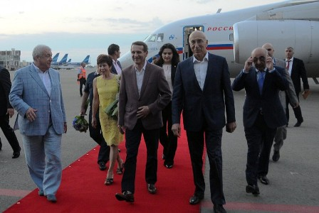 Narışkin Azərbaycana gəldi