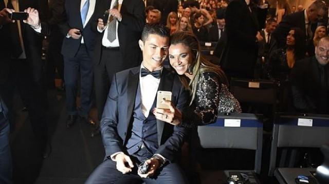 Ronaldonun 3 dəqiqəlik selfi rekordu