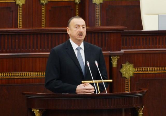`Azərbaycan demokratiyaya sadiqdir` - İlham Əliyev