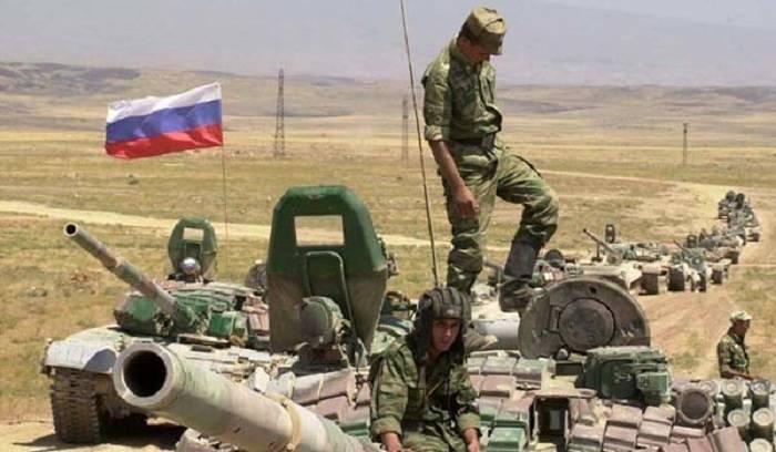 Ermənistanda Rusiyanın iki hərbçisi ölüb - (VİDEO)