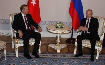 Ərdoğan Putinlə görüşdü