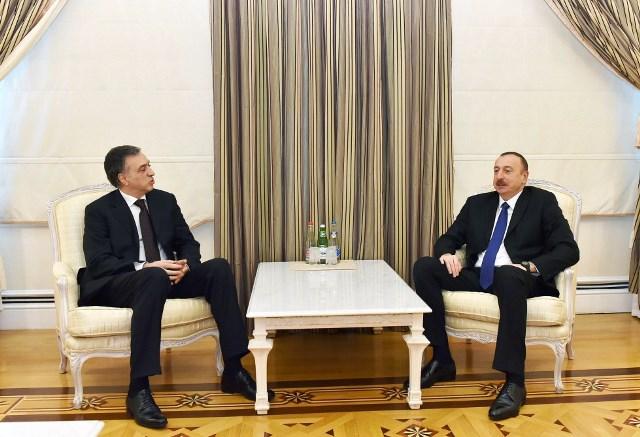 İlham Əliyev Monteneqro prezidenti ilə görüşüb