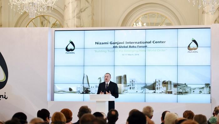 Members of Nizami Ganjavi International Center appeal to Azerbaijani president