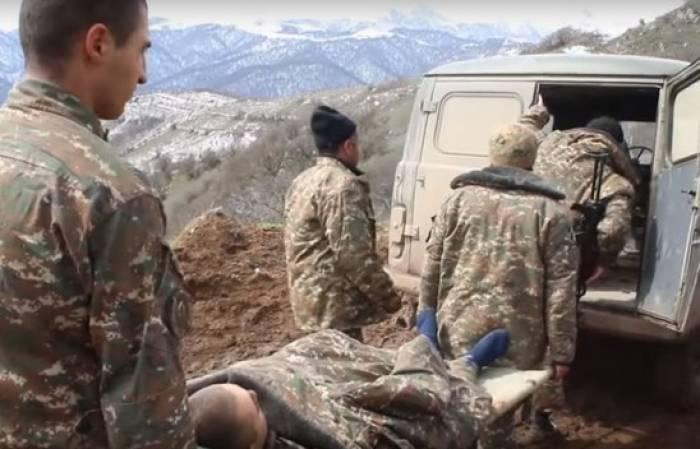 Qarabağda 3 erməni hərbçi öldü, biri yaralandı