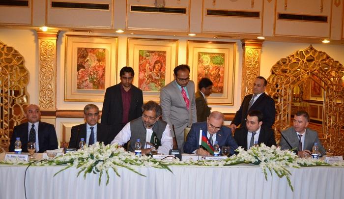 Azerbaijani-Pakistani Intergovernmental Commission sign Protocol