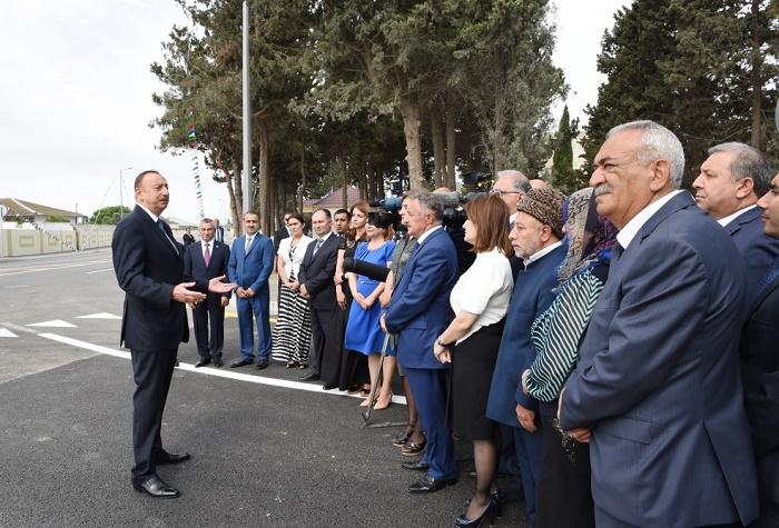 Président azerbaïdjanais: Personne ne devrait prendre des mesures contre l`indépendance
