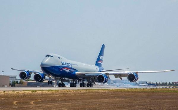 La compagnie Silk Way Airlines a acheté un nouveau Boeing 747-8F