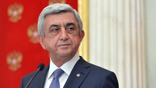 Sarkisyan Gürcüstana yeni səfir təyin edib