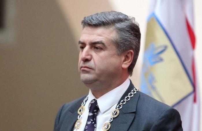 Karapetyan Medvedevin müavini ilə danışıqlarda