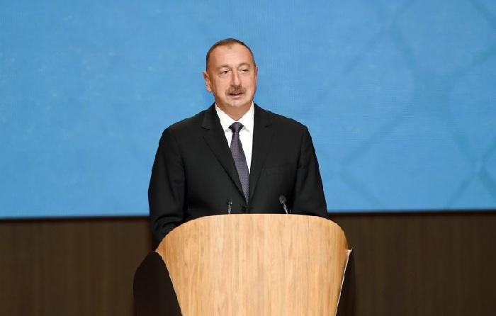 `Erməni faşizmi böyük fəlakət törədib` - İlham Əliyev (Yenilənib)