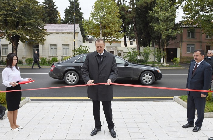 Azerbaijani President visits Qazakh distrct, attends openings - PHOTOS, UPDATING