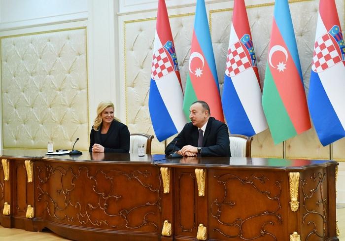 Le Chef d'État: `L'Azerbaïdjan espère que les États Balkans rejoignent au projet du Corridor gazier Sud`