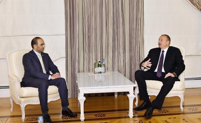 Prezident Dubay Ticarət Palatasının sədrini qəbul edib