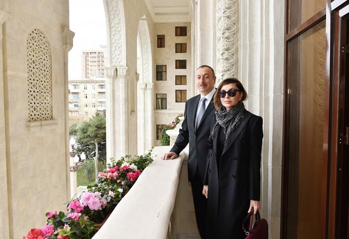 Cavid Qurbanov prezidentə məlumat verdi - Fotolar (Yenilənib)