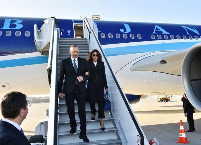 Ilham Aliyev termine sa visite aux États-Unis