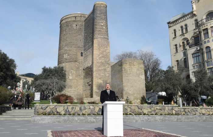 Azerbaijani flag will fly in Shusha, Khankendi, just as in Leletepe, Agdere - Ilham Aliyev