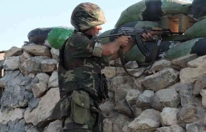 Waffenstillstandsverletzung an Kontaktlinie: Armenien setzt großkalibrige Maschinengewehren ein