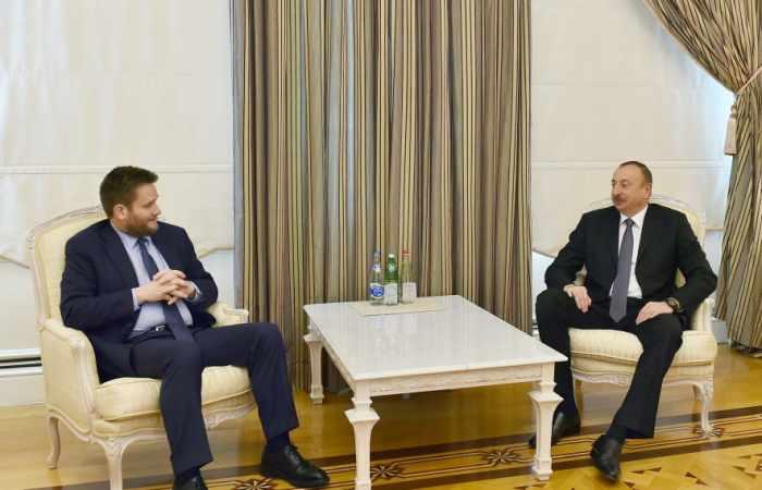 İlham Əliyev BP-nin regional prezidentini qəbul edib - Yenilənib