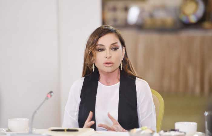 First Vice-President Mehriban Aliyeva met with Azerbaijani soldiers and officers wounded during April battles