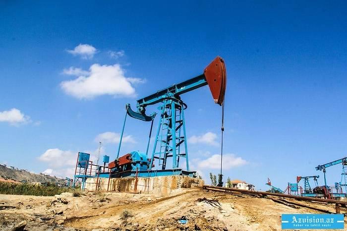 Dörd ayda 2,4 milyon ton neft hasil edilib