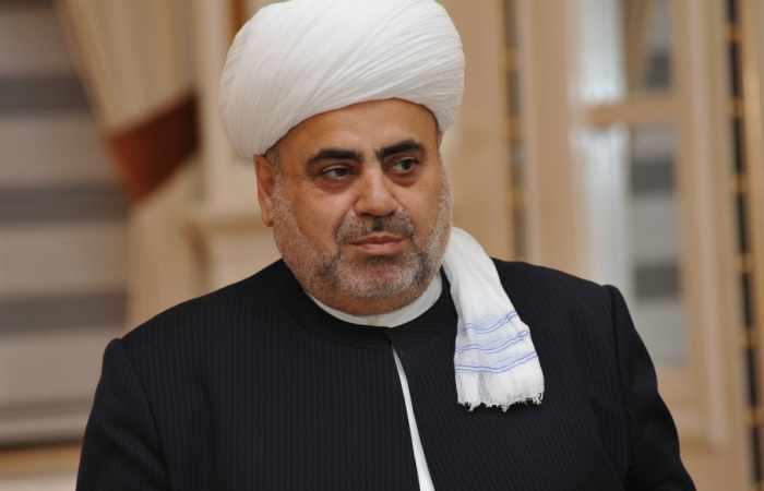 Vorsitzender der Verwaltung der Moslems im Kaukasus zu Besuch in Georgien