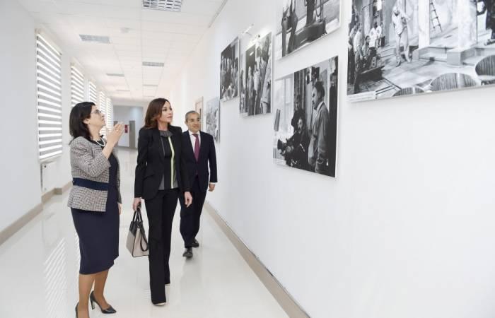 Mehriban Əliyeva açılışda iştirak edib - Yenilənib (Fotolar)
