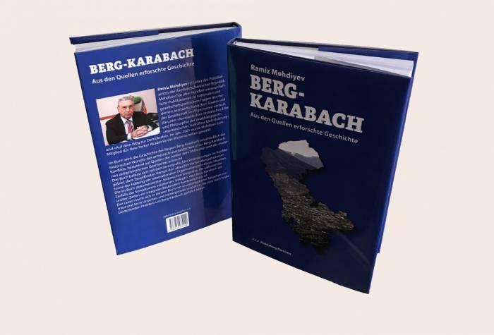 Ramiz Mehdiyevin kitabı alman dilində çap edildi
