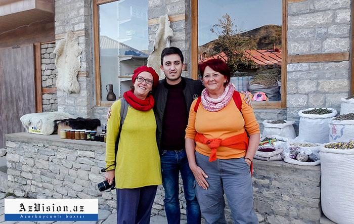 Azərbaycanın ucqar dağ kəndi: Burada satıcılar ingilis dilində danışır (FOTOLAR)