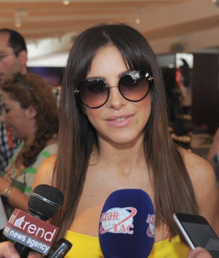 Ani Lorak: Ich habe sehr guten Eindruck von Baku