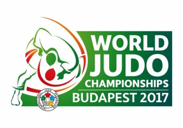 Aserbaidschans Judokas in der Judo-WM 2017 in Budapest