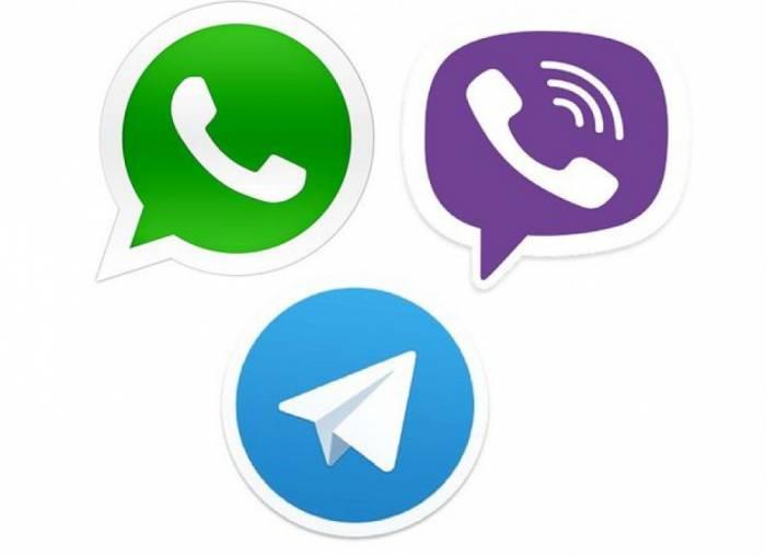 """""""WhatsApp"""", """"Viber"""" və """"Telegram"""" işlədənlərin diqqətinə!"""