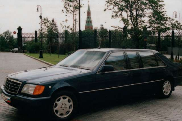 Yeltsin's limousine put up for sale for $332,495 in St. Petersburg