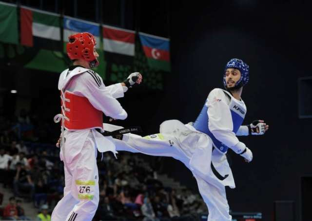 Taekwondo fighter Harchegani bags gold for Azerbaijan at Summer Universiade
