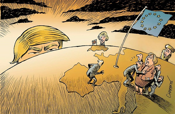 """Résultat de recherche d'images pour """"trump otan caricature"""""""