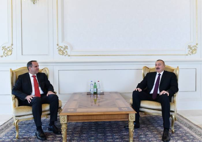 Prezident iki səfirin etimadnaməsini qəbul edib - Yenilənib (Fotolar)
