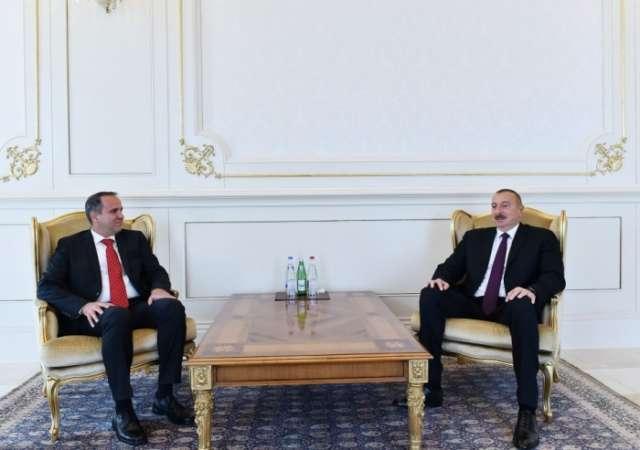 Ilham Aliyev receives credentials of incoming Tajik, Hungarian ambassadors - PHOTOS