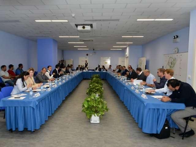 Representatives of UEFA visited Baku Olympic Stadium