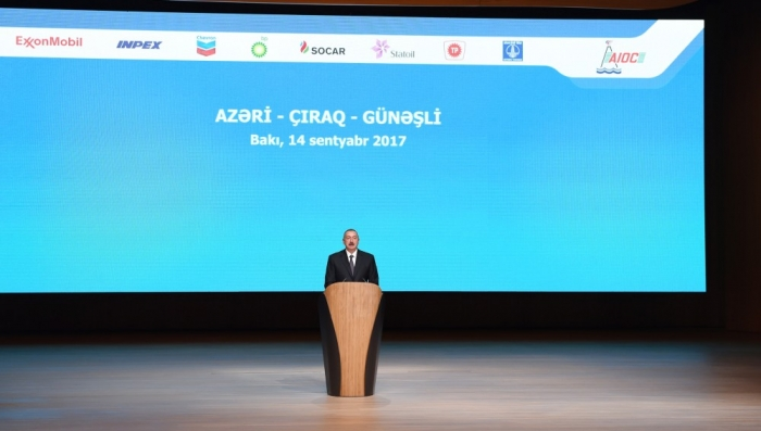 About 500M tons of oil yet to be produced at ACG block - President Aliyev