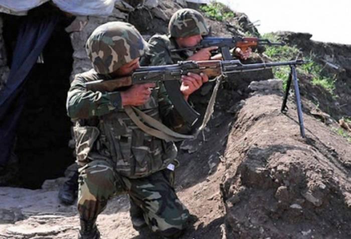 Bewaffnete armenische Einheiten verletzen Waffenstillstand