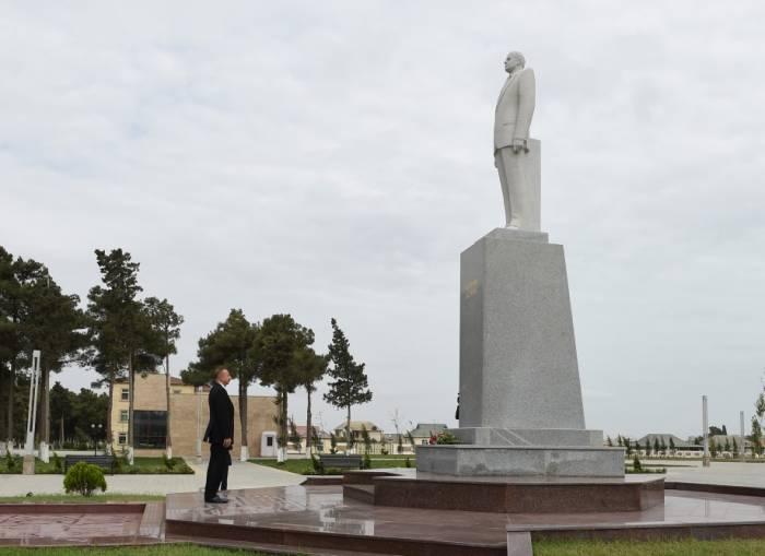 Déplacement du président de la République dans la région de Neftchala