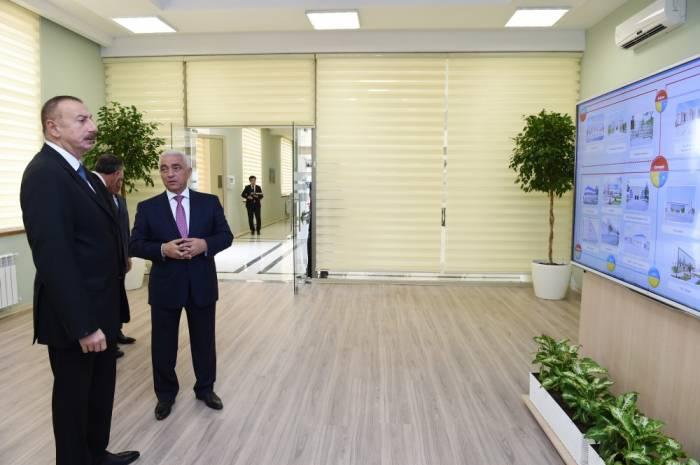 Le président Ilham Aliyev a participé à l'inauguration d'une sous-station à Salyan