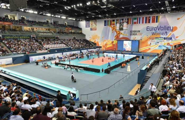 Volleyball-EM 2017 der Frauen: Aserbaidschan feiert zweiten Sieg