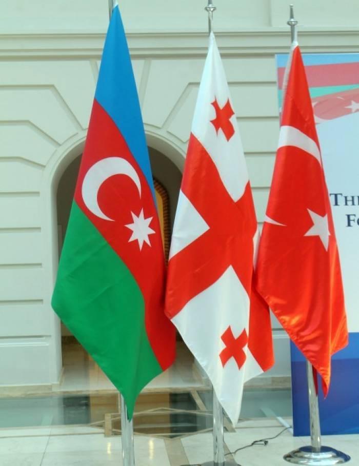 Aserbaidschan, Georgien und der Türkei führen gemeinsame Militärübung in Tiflis durch