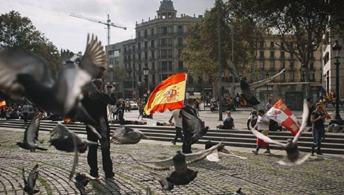 Kataloniyanın muxtariyyəti ləğv edilir