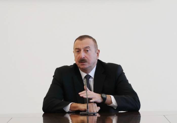 Prezidentdən mühüm bəyanat - Ermənistan danışıqlar prosesinə qayıdır