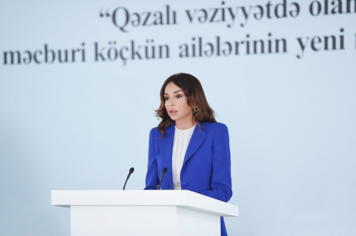 Today Azerbaijan has its own say, is a state to support its position - First VP Mehriban Aliyeva
