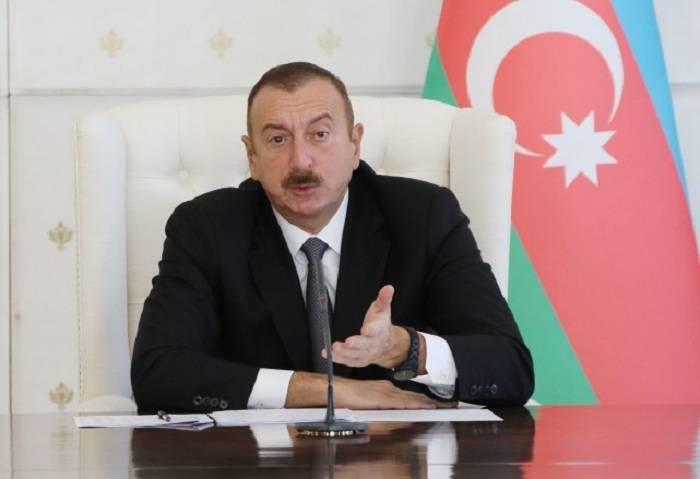"""""""Ermənistan danışıqları pozmağa çalışsa da, buna nail ola bilmədi"""" - İlham Əliyev"""