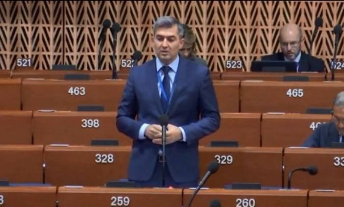 Azərbaycanlı deputat AŞPA üzvlərini qərəzli olmamağa çağırdı - VİDEO